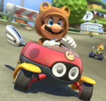 MK8 Screenshot Tanuki-Mario
