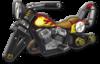 MK8 Sprite Flammen-Bike
