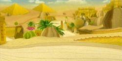 MKW Screenshot Staubtrockene Ruinen