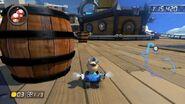 MK8 Screenshot Fass auf der Wolkenstraße
