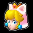 Mario Kart 8 Icon Katzen-Peach