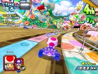 MKAGP2 Screenshot Baby Mario und Baby Luigi
