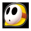 MK8 Sprite Gelber Shy Guy