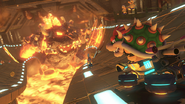 MK8 Screenshot Goldene Bowser-Statue