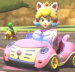 MK8 Screenshot Katzen-Peach