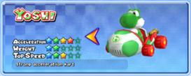 MKAGP2 Screenshot Yoshi Spezial-Kart