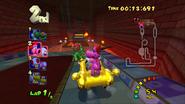 MKDD Screenshot Bowsers Festung 6