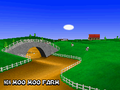 MKDS Screenshot N64 Kuhmuh-Farm