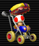 MKW Screenshot Toad im Baby-Booster