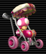 MKW Screenshot Toadette im Baby-Booster