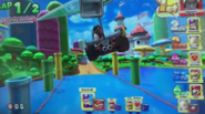 MKAGPDX Screenshot Schwarzer Yoshi im Lightning Champ 4