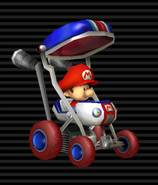 MKW Screenshot Baby Mario im Baby-Booster