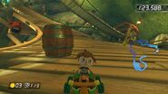 MK8 Screenshot Fass Wilder Wipfelweg