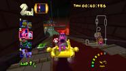MKDD Screenshot Bowsers Festung 13