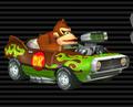 MKW Screenshot Donkey Kongs Feuerschleuder
