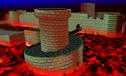 MK64 Screenshot Bowsers Festung