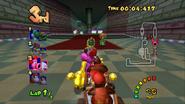 MKDD Screenshot Bowsers Festung 2