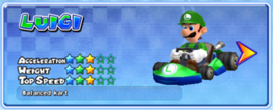 MKAGP2 Screenshot Luigi Standard-Kart