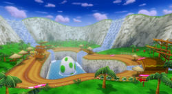 MKW Screenshot Yoshi-Kaskaden