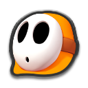 MK8 Sprite Oranger Shy Guy