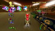 MKDD Screenshot Waluigi-Arena 1