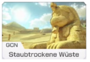 MK8 Screenshot Staubtrockene Wüste