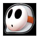 MK8 Sprite Weißer Shy Guy
