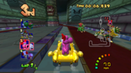 MKDD Screenshot Bowsers Festung 3