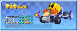 MKAGP2 Screenshot Pac-Man Spezial-Kart