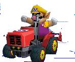 MKDS Screenshot Traktor