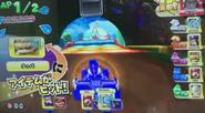 MKAGPDX Screenshot Schwarzer Yoshi im Lightning Champ