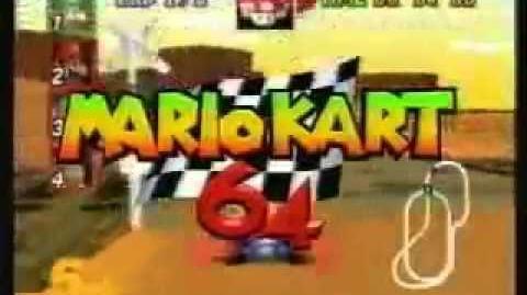 Mario Kart 64 - TV Spot
