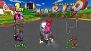 MKDD Screenshot Marios Piste 2