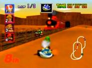 MK64 Screenshot Kalimari-Wüste 2