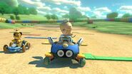 MK8 Screenshot Rosalina und Lakitu Donut-Ebene 3