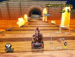 MKW Screenshot N64 Bowsers Festung
