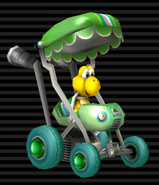 MKW Screenshot Koopa im Baby-Booster