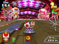 MKAGP Screenshot Toad und Toadette im Yoshi Park