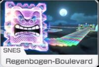 MK8 Screenshot SNES Regenbogen-Boulevard