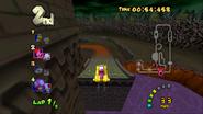 MKDD Screenshot Bowsers Festung 15