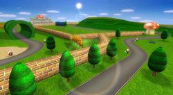 MKW Screenshot Marios Rennpiste