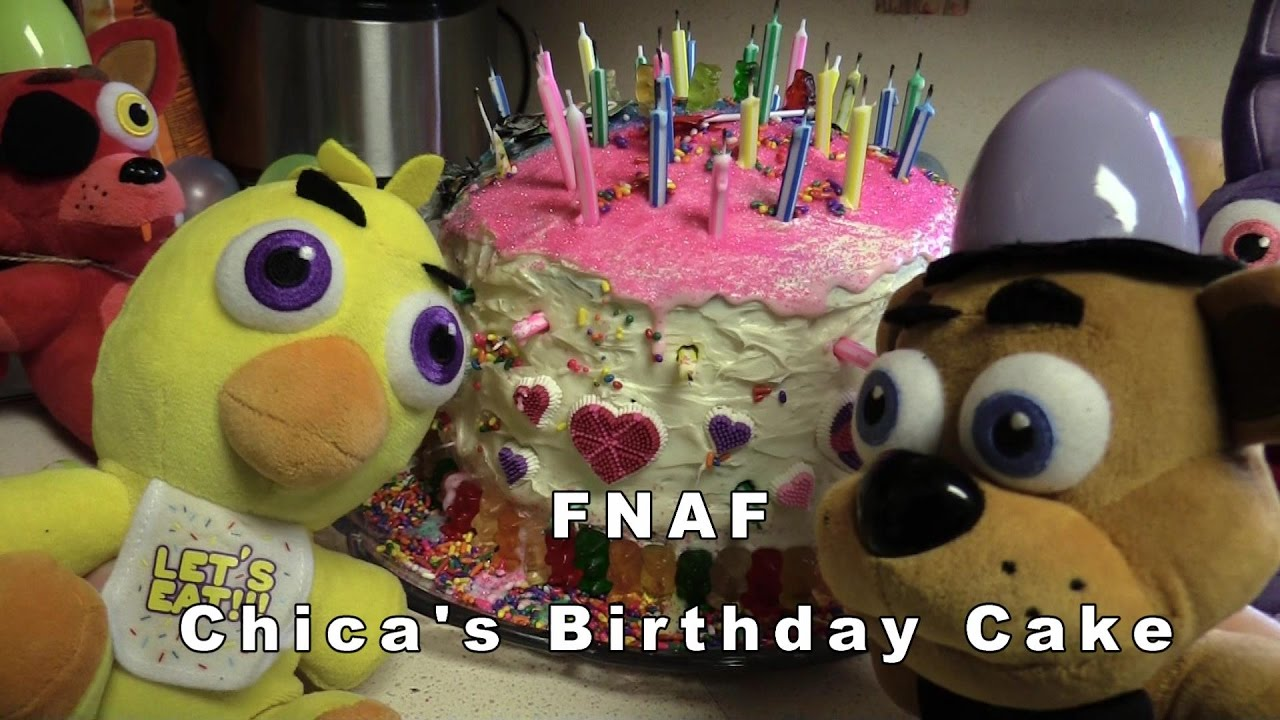 Chicas Birthday Cake Mario Muffet Adventures Fnaf Yokai Watch