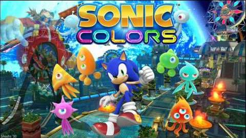"""Sonic Colors """"Planet Wisp Map"""" Music"""