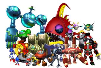 Eggman S Robots Mario Sonic And Sora Wiki Fandom