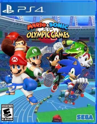 Mario Sonic At The Olympic Games Ps4 Mario Sonic Fanon