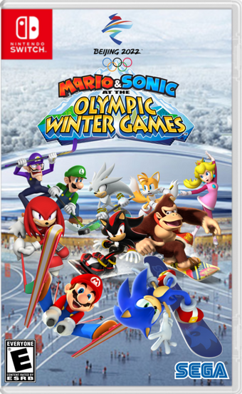 Mario Sonic At The Olympic Winter Games Beijing 2022 Mario Sonic Fanon Wikia Fandom
