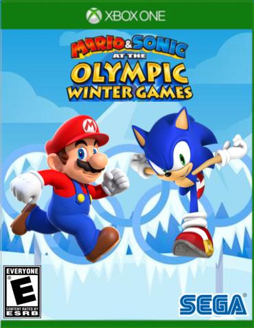 Mario Sonic At The Olympic Winter Games Xbox One Mario Sonic Fanon Wikia Fandom