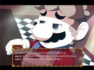 Mario Worried