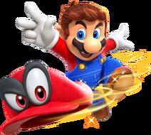 Марио бросает Кеппи