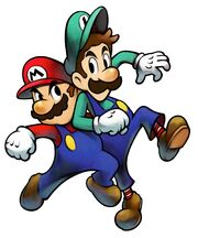 M&L Artwork Mario & Luigi